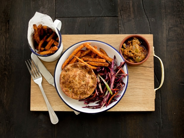 Head to Pieminister's new restaurant on Broad Quay to sample its award-winning pies.