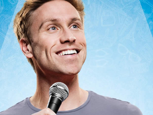 Win tickets for Russell Howard's sold out show in March.