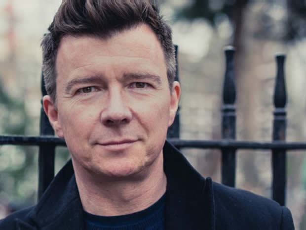 Promising not to desert you, Rick Astley is back on the scene and heading to Coltson Hall this April.