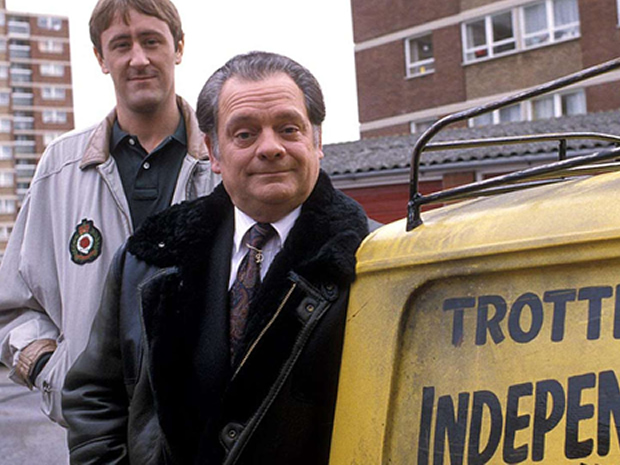 Only Fools and Horses may be set in London, but features shots of Bristol.