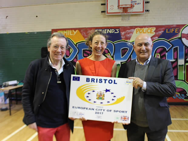 Bristol has been named as the UK's European City of Sport 2017.