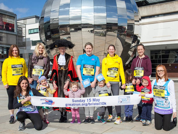 Run, jog or walk around Bristol Harbourside when The Great Bristol launches its Family Mile.