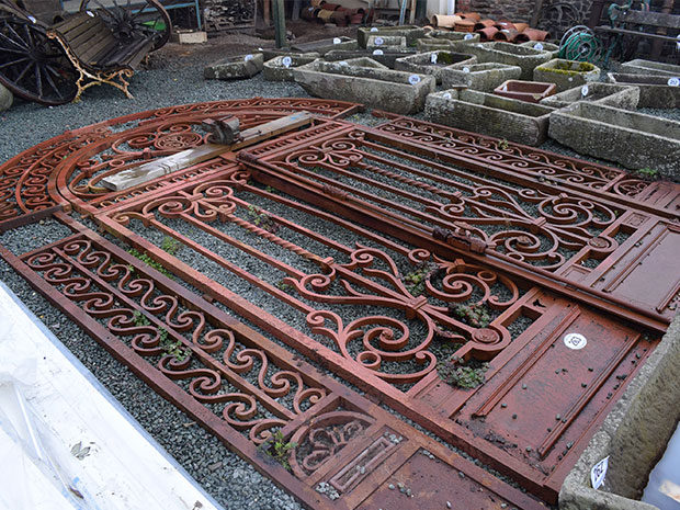 Lot 263 is a lovely gate that was designed for St Paul's Cathedral.